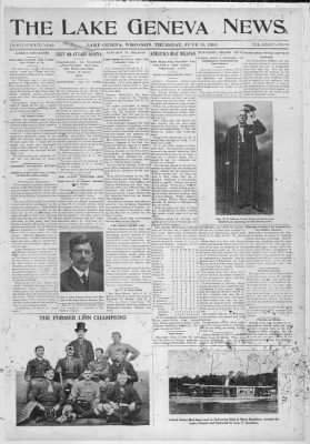 The Lake Geneva Regional News from Lake Geneva, Wisconsin on June 15, 1916 · 1