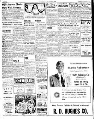 The Courier News from Blytheville, Arkansas on August 9, 1952 · Page 10