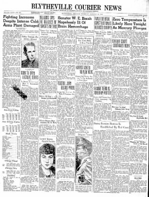 The Courier News from Blytheville, Arkansas on January 18, 1940 · Page 1