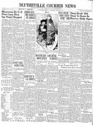 The Courier News from Blytheville, Arkansas on January 24, 1940 · Page 1