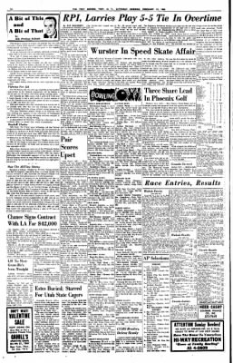 The Troy Record from Troy, New York on February 13, 1965 · Page 14