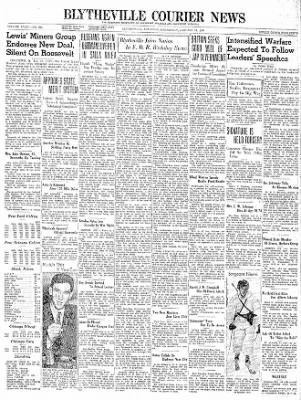 The Courier News from Blytheville, Arkansas on January 31, 1940 · Page 1