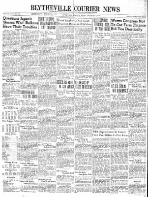 The Courier News from Blytheville, Arkansas on February 2, 1940 · Page 1