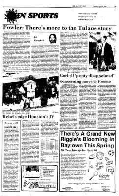 The Baytown Sun from Baytown, Texas on April 9, 1985 · Page 10