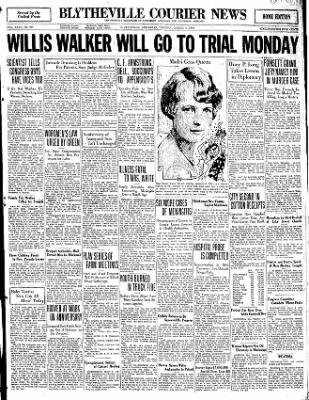 The Courier News from Blytheville, Arkansas on March 4, 1930 · Page 1