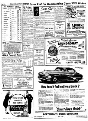 the portsmouth herald from portsmouth new h shire on october 10 1942 Buick Sedanette the portsmouth herald from portsmouth new h shire on october 10 1951 page 6