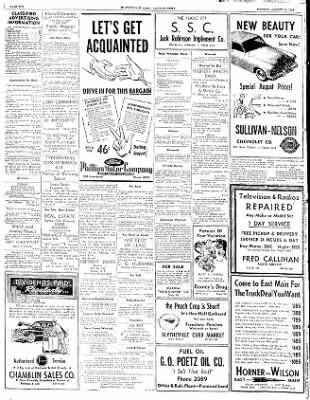 The Courier News from Blytheville, Arkansas on August 11, 1952 · Page 10