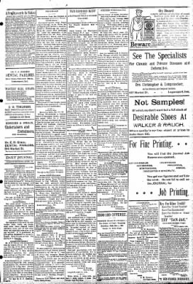 Logansport Pharos-Tribune from Logansport, Indiana on April 30, 1895 · Page 3