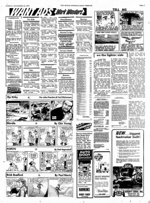 The Tipton Daily Tribune from Tipton, Indiana on November 16, 1970 · Page 9