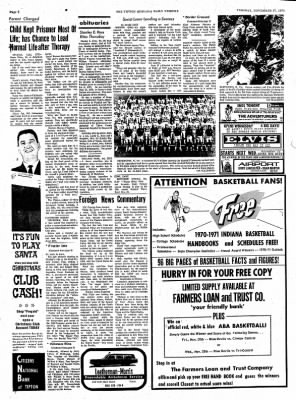 The Tipton Daily Tribune from Tipton, Indiana on November 17, 1970 · Page 6