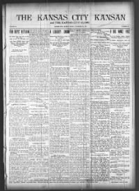 Sample The Kansas City Kansan front page