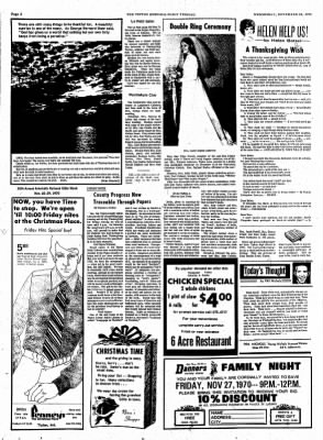 The Tipton Daily Tribune from Tipton, Indiana on November 25, 1970 · Page 2