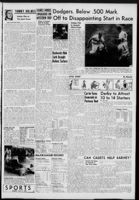 The Brooklyn Daily Eagle from Brooklyn, New York on May 2, 1949 · Page 13