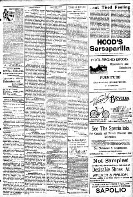 Logansport Pharos-Tribune from Logansport, Indiana on May 1, 1895 · Page 3