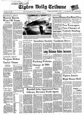 The Tipton Daily Tribune from Tipton, Indiana on December 5, 1970 · Page 1