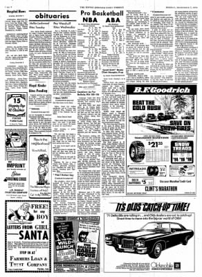 The Tipton Daily Tribune from Tipton, Indiana on December 7, 1970 · Page 6