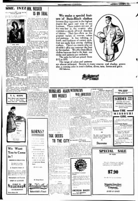 The Bakersfield Californian from Bakersfield, California on October 14, 1908 · Page 4