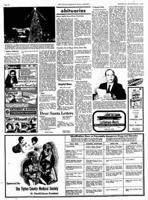 The Tipton Daily Tribune from Tipton, Indiana on December 17, 1970 · Page 10