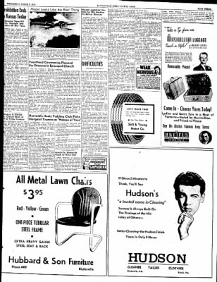 The Courier News from Blytheville, Arkansas on March 9, 1949 · Page 3