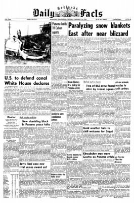 Redlands Daily Facts from Redlands, California on January 14, 1964 · Page 1