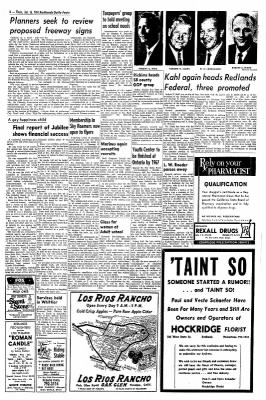 Redlands Daily Facts from Redlands, California on January 16, 1964 · Page 4
