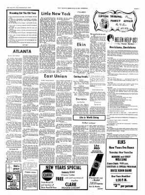 The Tipton Daily Tribune from Tipton, Indiana on December 31, 1970 · Page 3