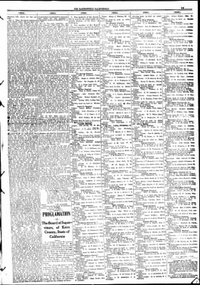 The Bakersfield Californian from Bakersfield, California on October 27, 1908 · Page 11