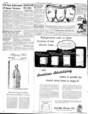 The Courier News from Blytheville, Arkansas on August 13, 1952 · Page 6