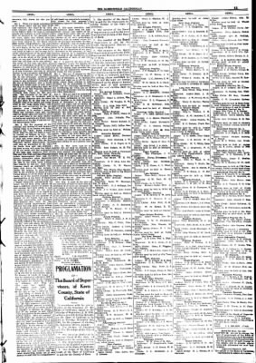 The Bakersfield Californian from Bakersfield, California on October 30, 1908 · Page 11