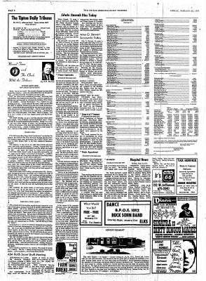 The Tipton Daily Tribune from Tipton, Indiana on January 22, 1971 · Page 6