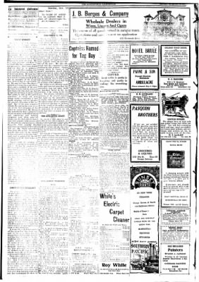 The Bakersfield Californian from Bakersfield, California on November 16, 1908 · Page 2