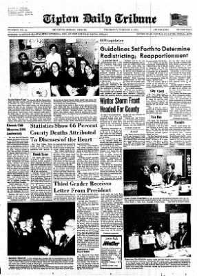The Tipton Daily Tribune from Tipton, Indiana on February 3, 1971 · Page 1