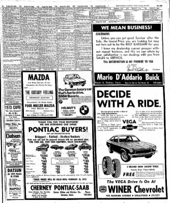 the bridgeport post from bridgeport connecticut on january 28 1973 1980 Mustang Fastback the bridgeport post from bridgeport connecticut on january 28 1973 page 99