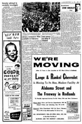 Redlands Daily Facts from Redlands, California on February 5, 1964 · Page 9