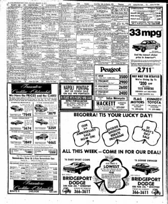 The Bridgeport Post From Bridgeport Connecticut On March 14 1975