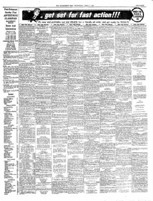 The Bridgeport Post From Bridgeport Connecticut On April 2 1969