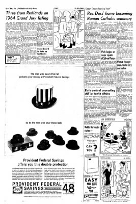 Redlands Daily Facts from Redlands, California on February 6, 1964 · Page 6