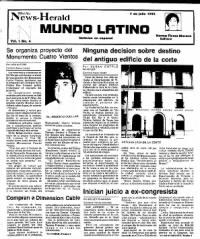 Sample Del Rio News-Herald Mundo Latino front page