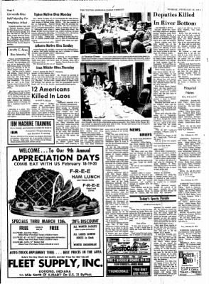 The Tipton Daily Tribune from Tipton, Indiana on February 16, 1971 · Page 6