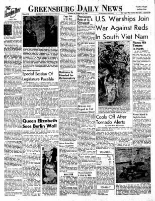 Greensburg Daily News from Greensburg, Indiana on May 27, 1965 · Page 3