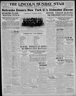 The Lincoln Star from Lincoln, Nebraska on November 21, 1926 · Page 13