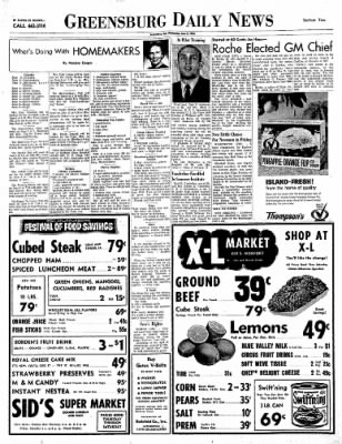 Greensburg Daily News from Greensburg, Indiana on June 2, 1965 · Page 5