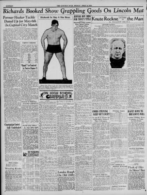 The Lincoln Star from Lincoln, Nebraska on April 24, 1931 · Page 16