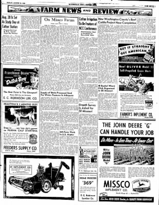 The Courier News from Blytheville, Arkansas on August 15, 1952 · Page 7