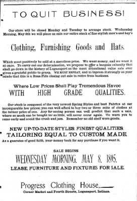 Logansport Pharos-Tribune from Logansport, Indiana on May 5, 1895 · Page 7