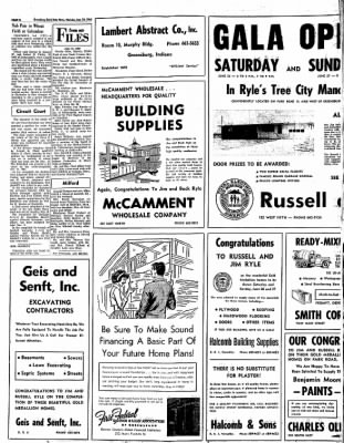 Greensburg Daily News from Greensburg, Indiana on June 24, 1965 · Page 4