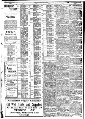 The Bakersfield Californian from Bakersfield, California on December 11, 1908 · Page 9