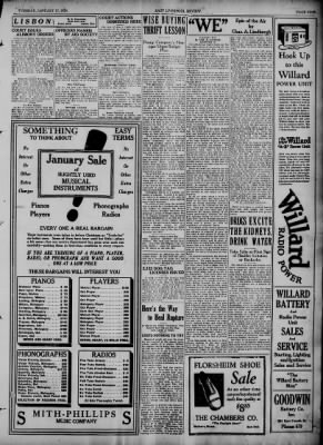 The Evening Review from East Liverpool, Ohio on January 17, 1928 · Page 9