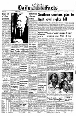 Redlands Daily Facts from Redlands, California on February 19, 1964 · Page 1