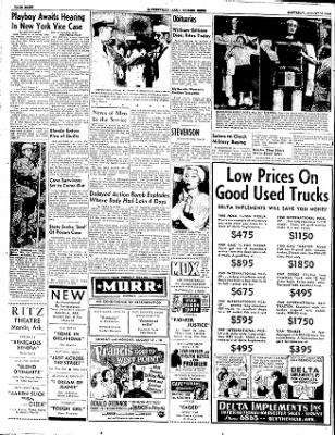 The Courier News from Blytheville, Arkansas on August 16, 1952 · Page 8